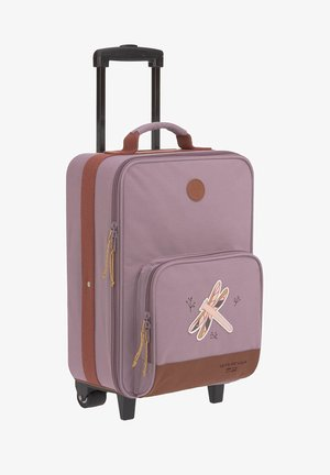 Wheeled suitcase - dragonfly
