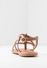 New Look Wide Fit - WIDE FIT GOA - Sandály s odděleným palcem - tan - 5