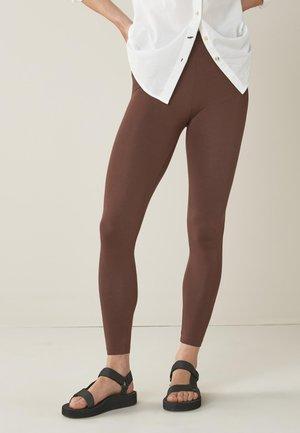 Leggings - Trousers - dark brown