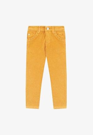 Trousers - ochre