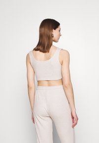Topshop - COSY BRUSHED SET - Tracksuit bottoms - stone - 3
