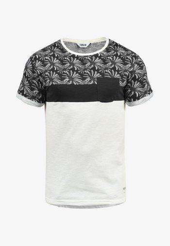 FLORIAN - T-shirt con stampa - black