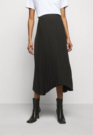 LOELLA - Pleated skirt - black