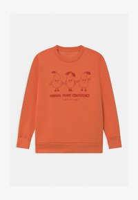 TINYCOTTONS - PEARS CONFERENCE UNISEX - Sweatshirt - peachy red/burgundy - 0