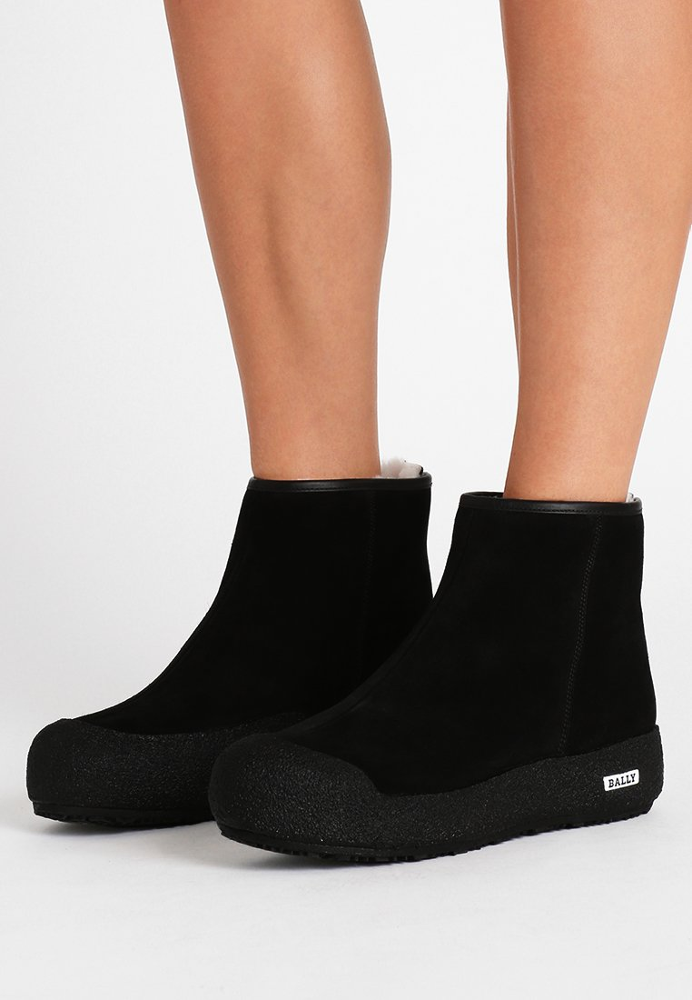 Bally - GUARD II - Wedge Ankle Boots - black