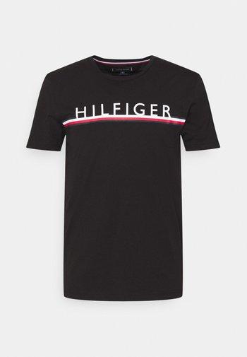 CORP STRIPE TEE - T-shirt con stampa - black