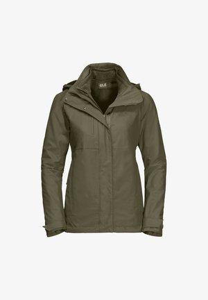ECHO PASS WOMEN - Hardshell jacket - granite