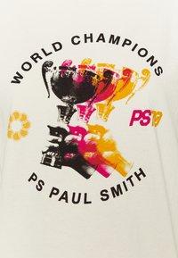 PS Paul Smith - WOMENS - Print T-shirt - beige - 5