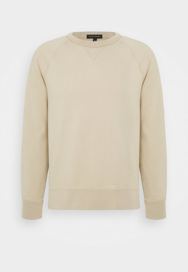 DYE TERRY - Sweatshirt - crockery