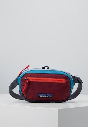 ULTRALIGHT BLACK HOLE MINI HIP PACK - Bum bag - patchwork: roamer red