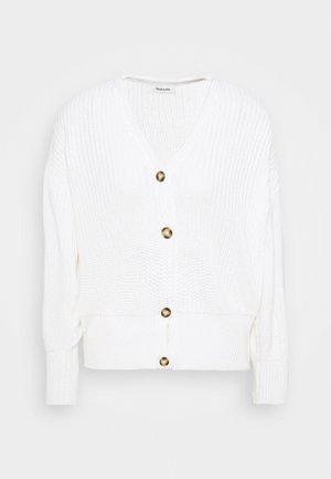 HANNI CARDIGAN - Cardigan - white