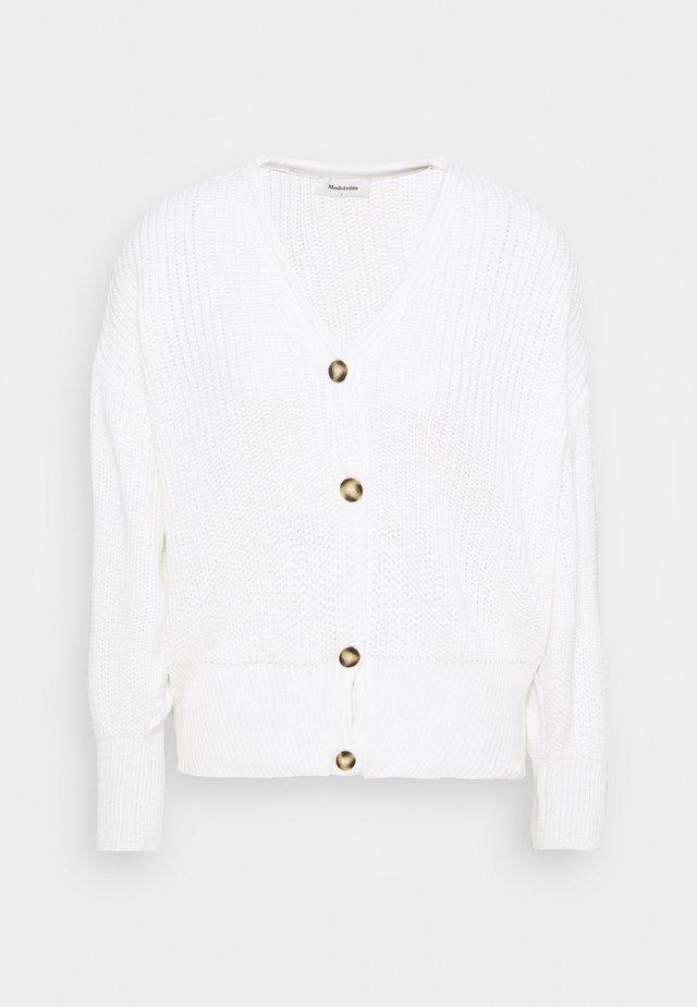 HANNI CARDIGAN - Gilet - white
