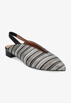 Tacones - black, silver