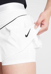 Nike Performance - VICTORY SKIRT - Sportovní sukně - white/black - 5