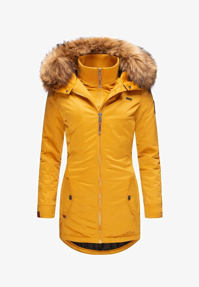 SANAKOO - Winter coat - yellow