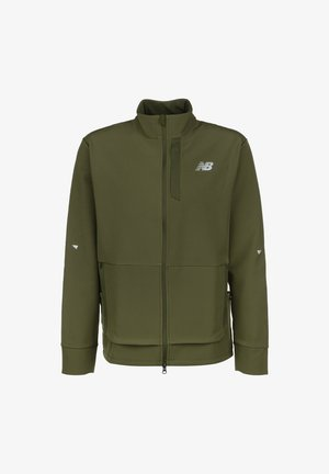 IMPACT RUN  - Soft shell jacket - other green