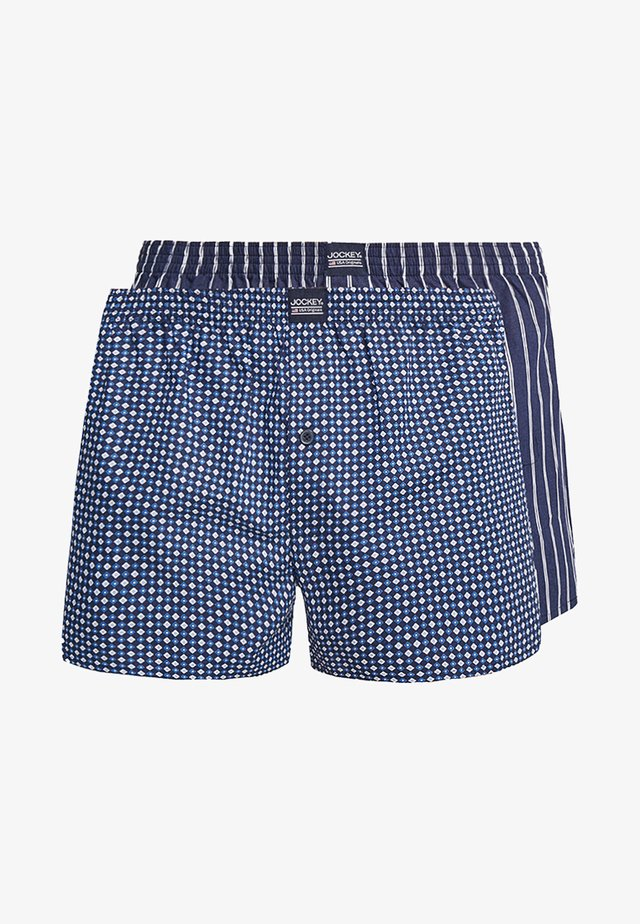 2 PACK - Boxer shorts - navy