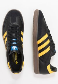 adidas Originals - SAMBA - Zapatillas - core black/equipment yellow/blu bird - 1