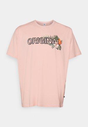 PRINT TEE - Print T-shirt - pink