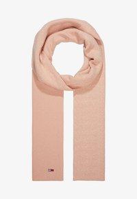 Tommy Jeans - DEGRADE FLAG SCARF - Huivi - pink - 1
