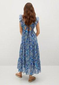 Mango - Robe d'été - blå - 1