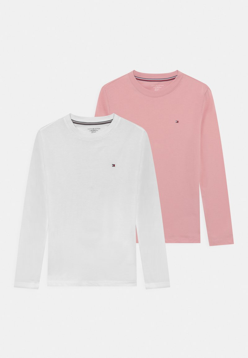 Tommy Hilfiger - 2 PACK - Maglia del pigiama - rose tan/white