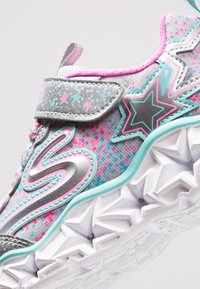 Skechers - GALAXY LIGHTS - Trainers - silver/multicolor - 5