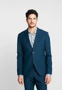 Isaac Dewhirst - FASHION SUIT - Suit - teal - 2