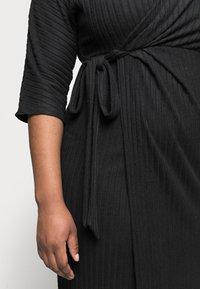 River Island Plus - Jumper dress - black - 4