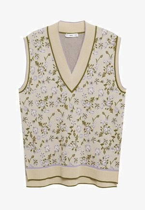 Jersey de punto - jasny/pastelowy szary