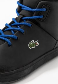Lacoste - EXPLORATEUR THERMO - High-top trainers - black - 2