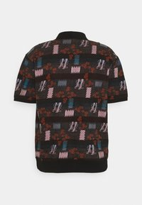 Obey Clothing - EDDY  - Polo shirt - black multi - 1
