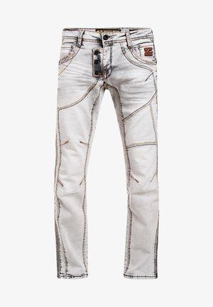 Straight leg jeans - grau