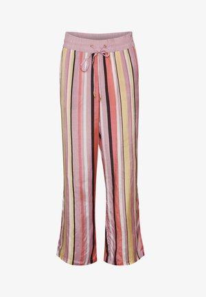KASICHA  - Trousers - misty rose multi stripe