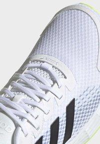 adidas Performance - DURAMO SL LAUFSCHUH - Zapatillas de running neutras - white - 5