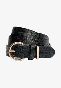 Stradivarius - Belt - black - 1