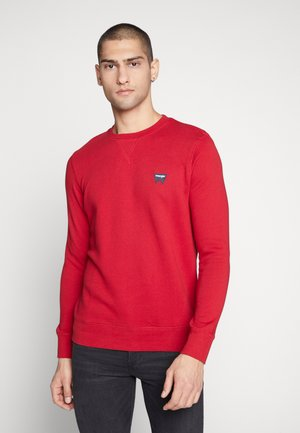 SIGN OFF CREW - Sweatshirt - red