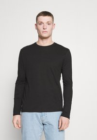 Pier One - 5 PACK - Långärmad tröja - white/dark blu/grey - 5
