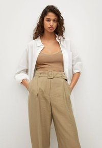 Mango - VESTI - Trousers - middenbruin - 3
