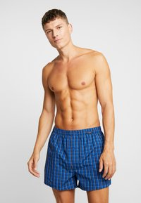 Schiesser - 2 PACK - Boxer shorts - royal - 1
