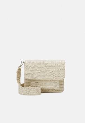CAYMAN POCKET - Olkalaukku - soft off-white