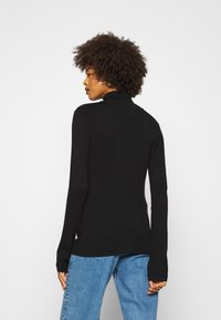 Anna Field - BASIC- TURTLE NECK - Jumper - black - 2