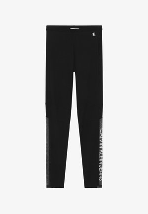 LOGO - Leggings - Trousers - black