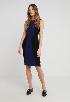 CALLIOPE - Pouzdrové šaty - navy/black
