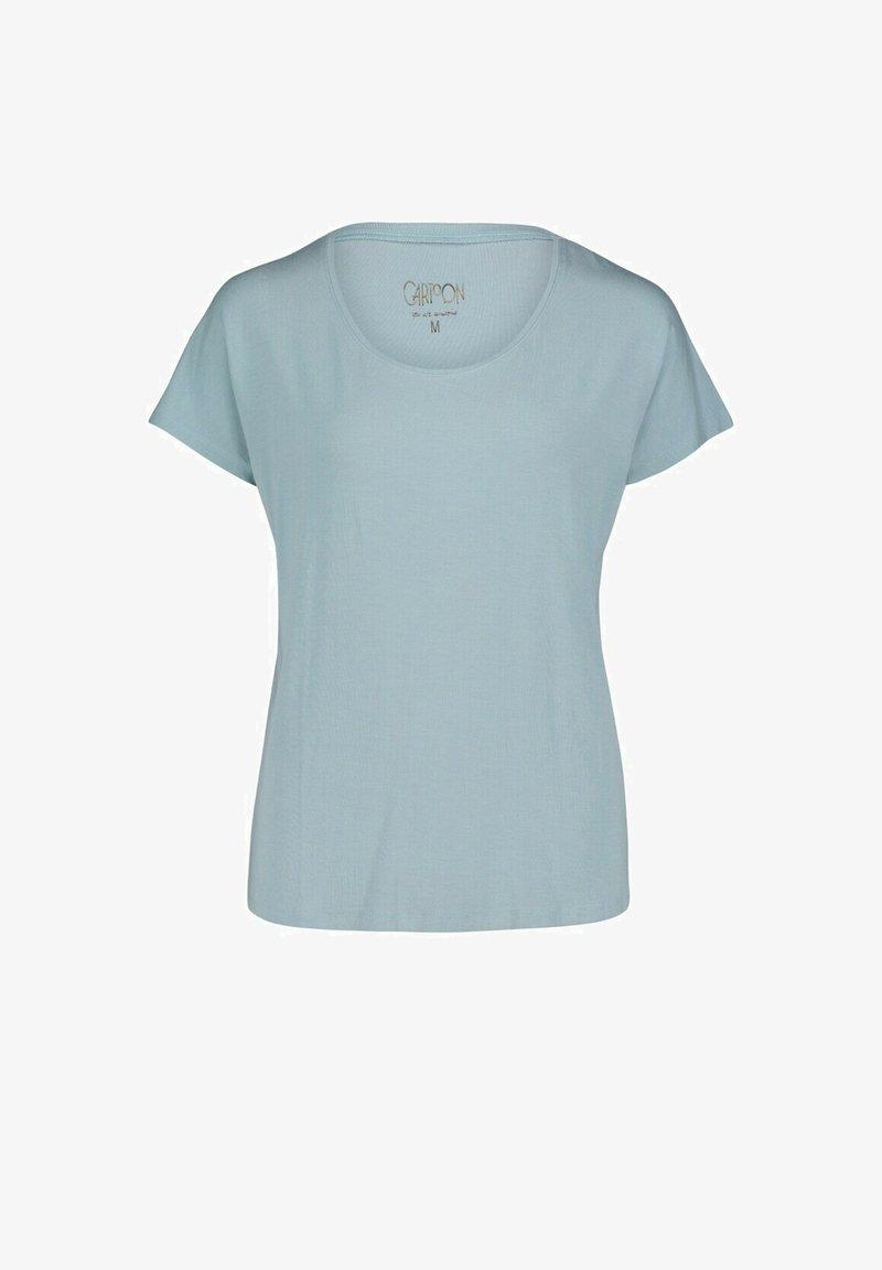 Cartoon - Basic T-shirt - blue