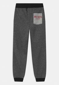 Re-Gen - Teplákové kalhoty - dark grey melange - 1