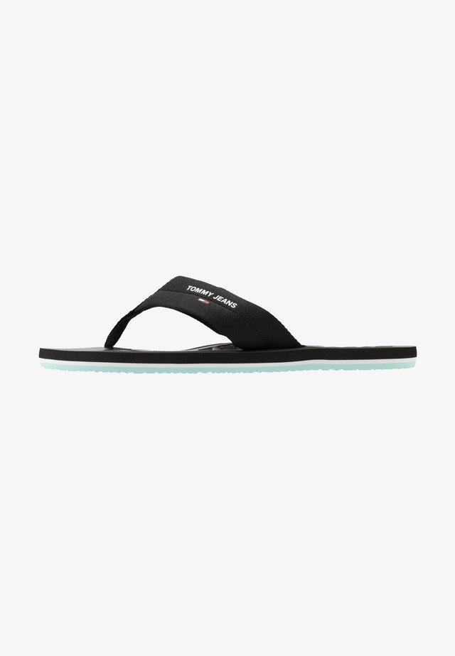 BEACH  - Sandalias de dedo - black