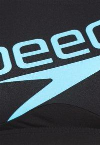Speedo - BOOM LOGO SET - Bikini - black/light adriatic - 7