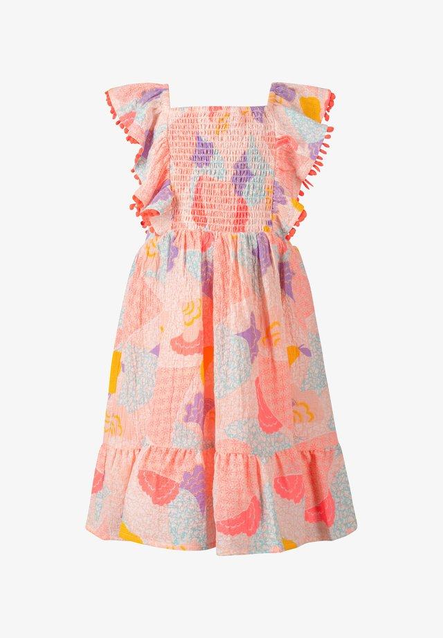 SMOK  - Sukienka letnia - neon coral
