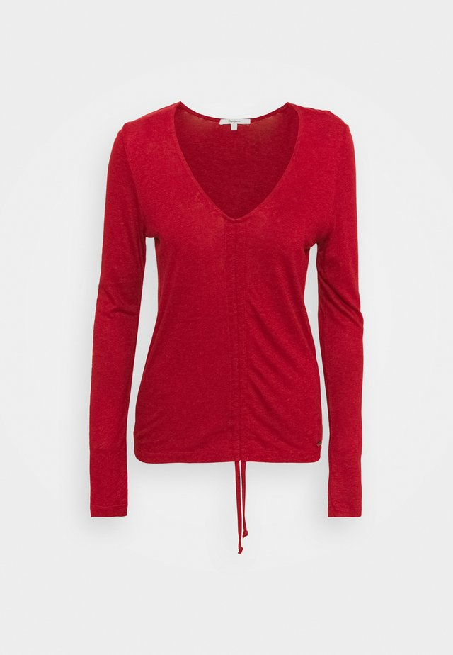 CLAIRE - Pullover - tibetan red